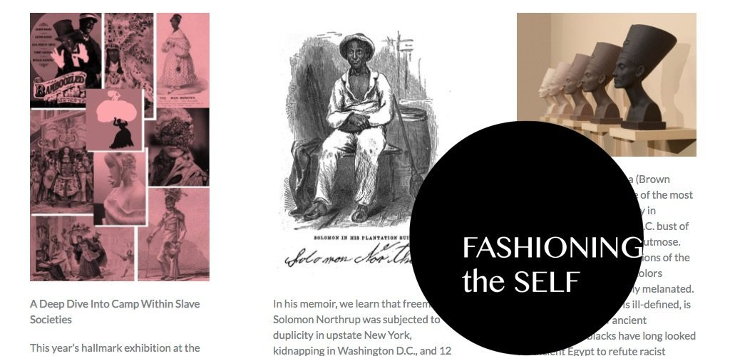 Fashioning the Self in Slavery and Freedom
