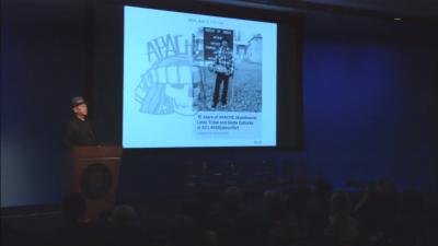 screenshot from the presentation slideshow