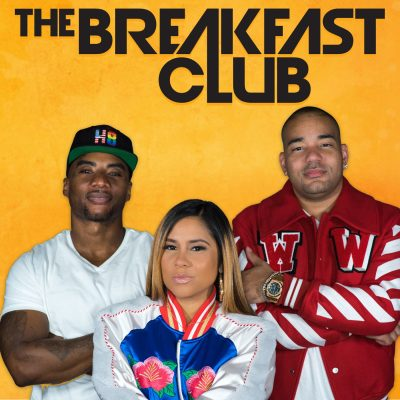 The Breakfast Club podcast poster