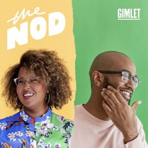 branded image cover for The Nod podcast
