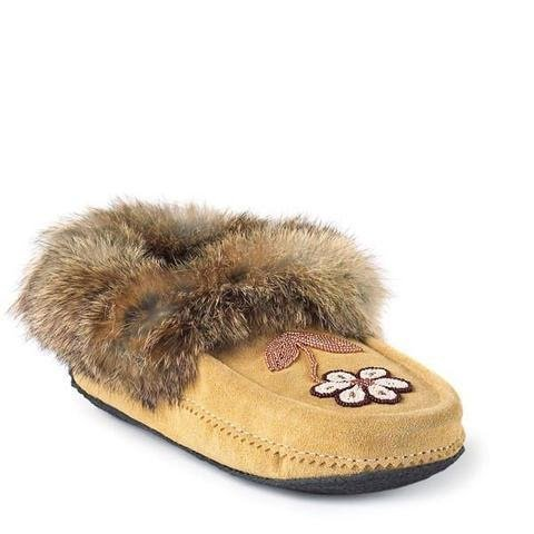 close-up image of a moccasin