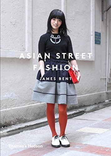 Book cover of Asian Street Fashion showing an Asian woman's outfit