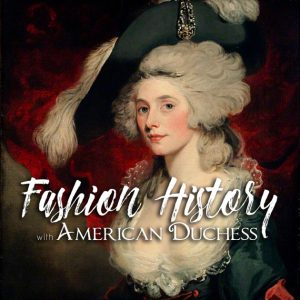 Podcast cover art for Fashion History with American Duchess