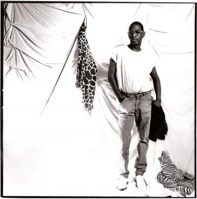 black and white portrait of Willi Smith