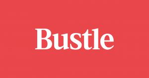 Bustle wordmark logo.
