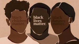 Digital Black lives matter illustration