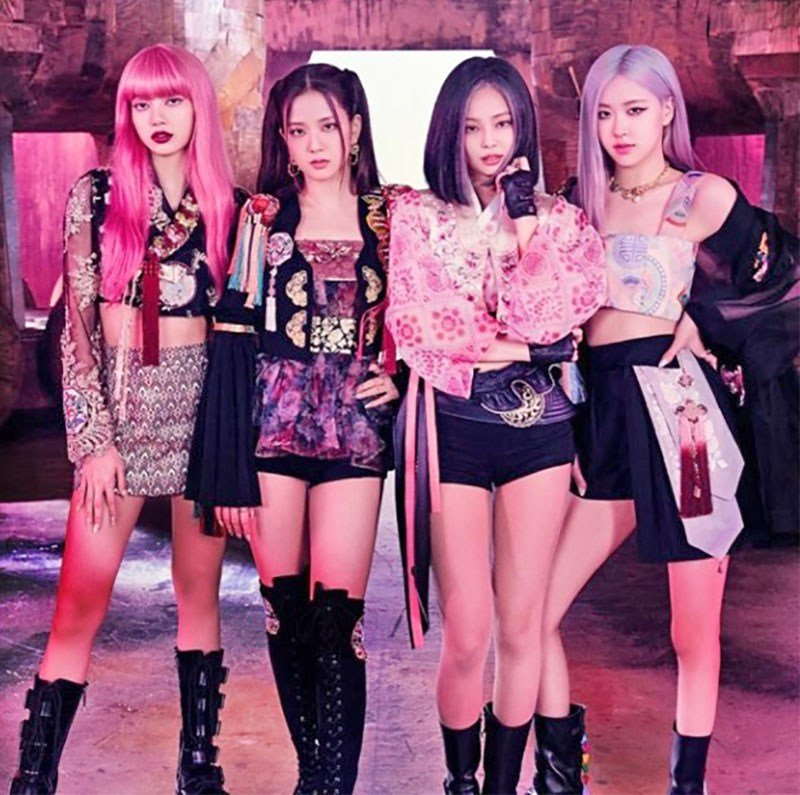 Still from Blackpink Music Video