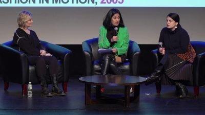 Circe Henestrosa, Ana Elena Mallet and Tanya Melendez-Escalante seated in a row