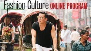 Designer Prabal Gurung riding a rickshaw
