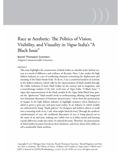 first page of article with abstract