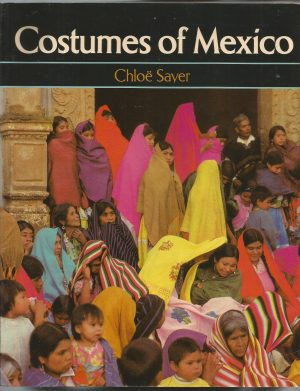 Book cover with photo of women covered with mantles of different vibrant colours, some of them striped