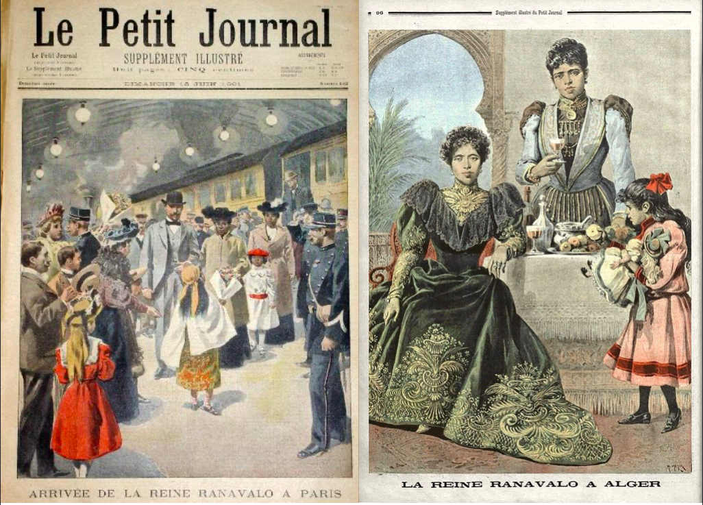 Front cover and back matter of Le Petit Journal 1901