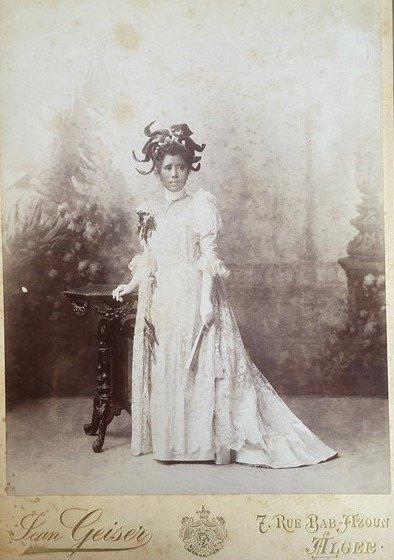 Ranavalona in dress and headress