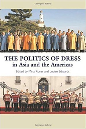 Book cover with two images of groups of men dressed in matching outfits.