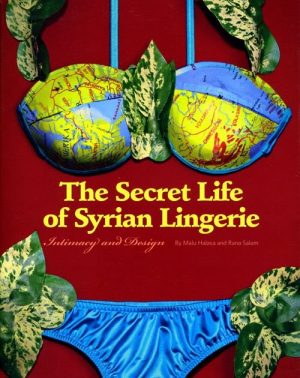 Book cover with images of underwear