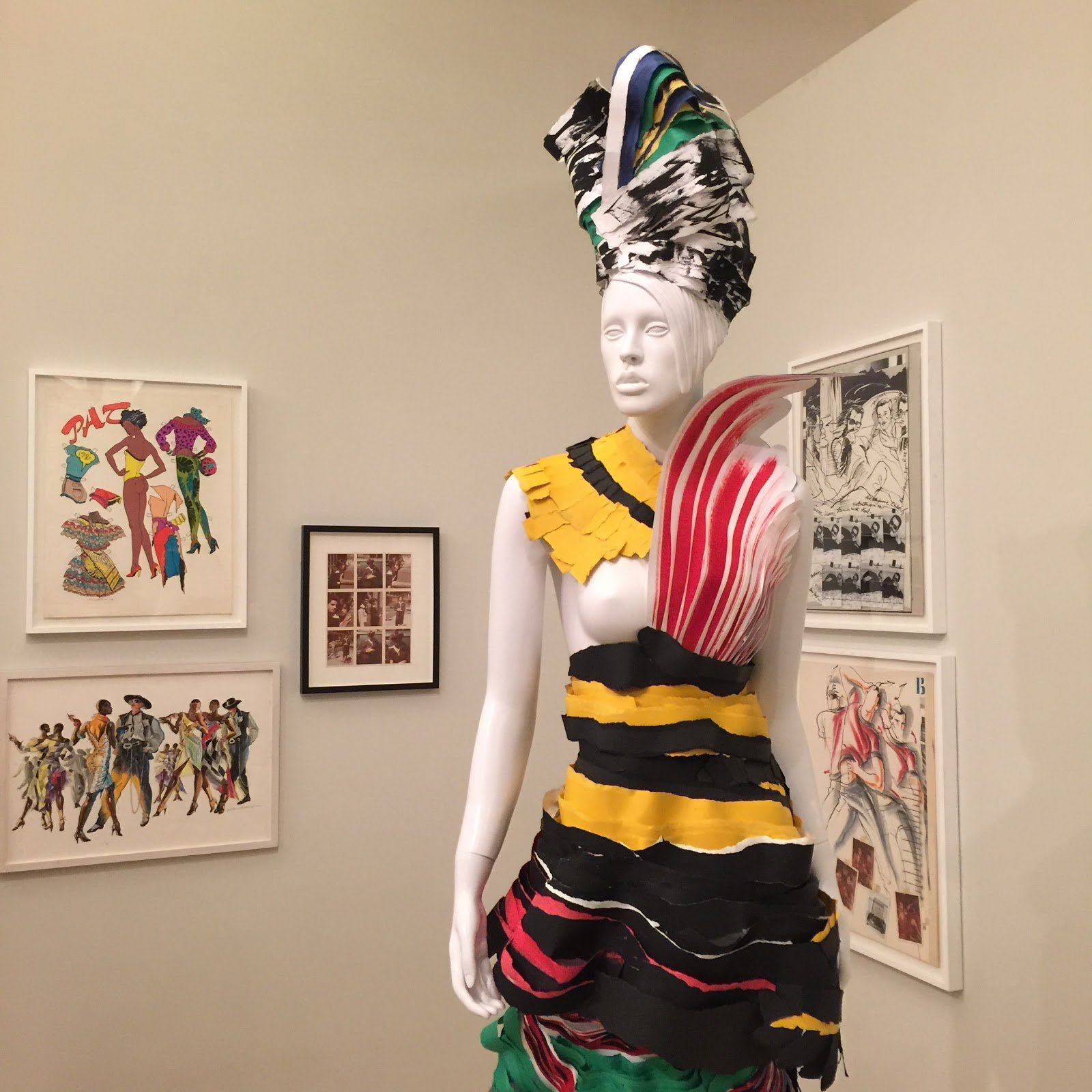 "Gallery view of ""Antonio López: Future, Funk, Fashion,"" on view at El Museo, June 14 – November 26, 2016."