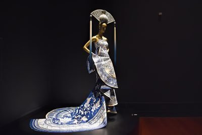Image of a Guo Pei garment on a mannequin.