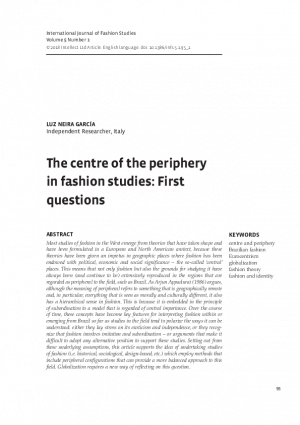 First page of article with title and abstract