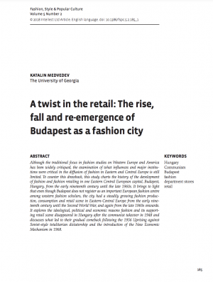 First page of article with title, author information, and text
