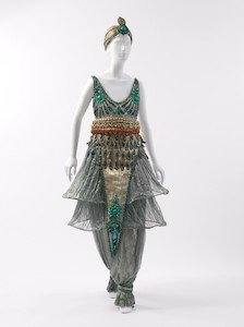 Paul Poiret, French, 1879-1944. 1911. Costume (Fancy Dress), overall, front. Place: The Metropolitan Museum of Art