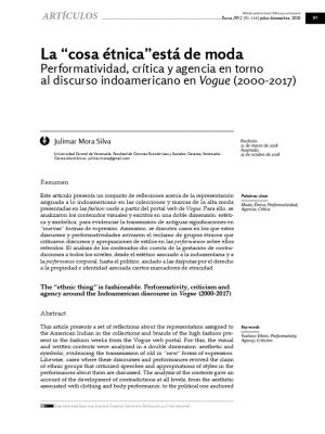 First page of article with title, author information, and abstract in English and Spanish