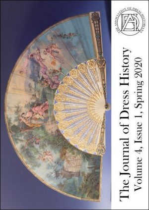 Journal cover with photo of an open fan