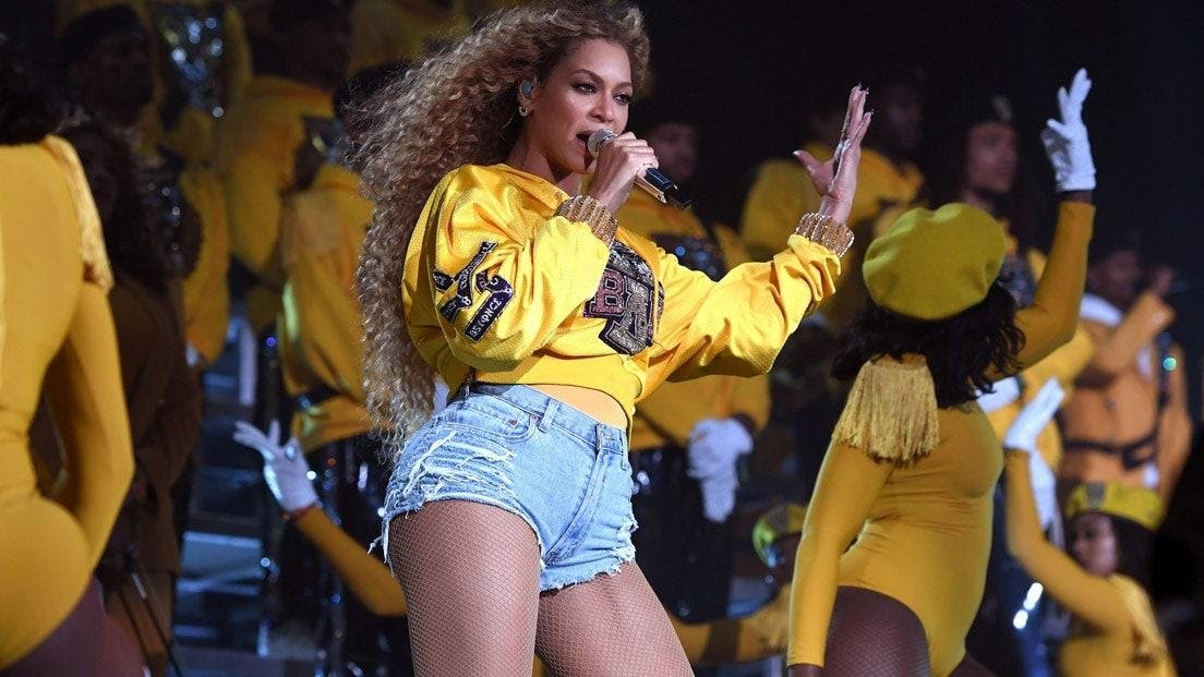 Beyonce performs at 2018 Coachella wearing an HBCU inspired costume