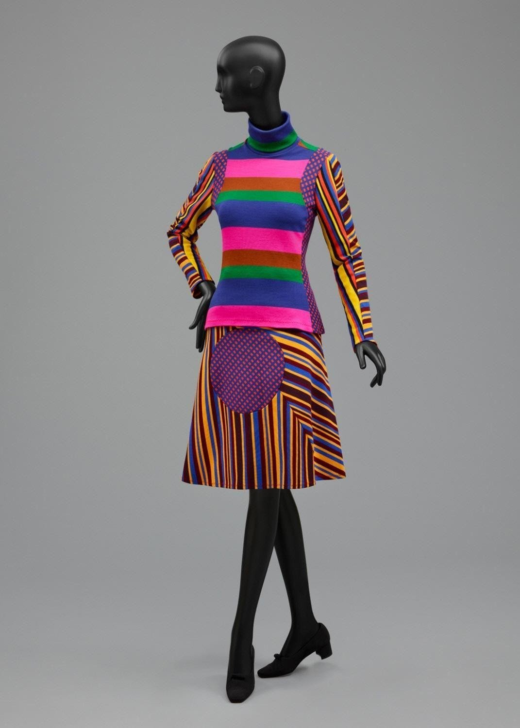 Museum image of a Stephen Burrows garment