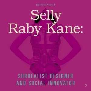 Title of article with cropped image of woman wearing Selly Raby Kane's designs in the background