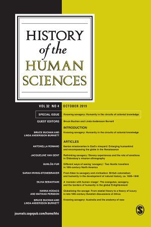 Journal cover with title and list of articles