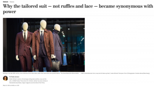 Title image of article with image of three mannequins in suits
