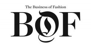 """Logo of The Business of Fashion with the initials """"BOF"""""""