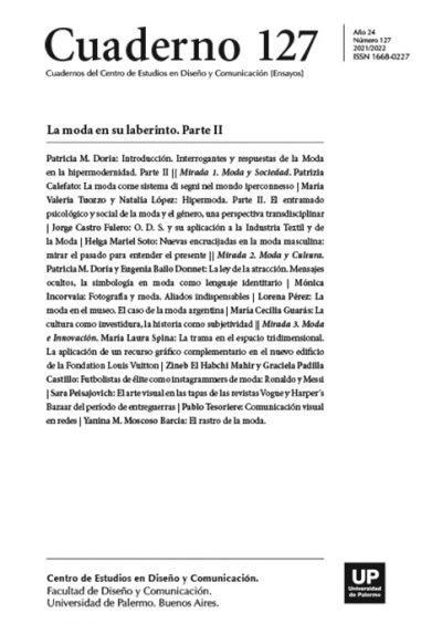 Journal cover with list of articles
