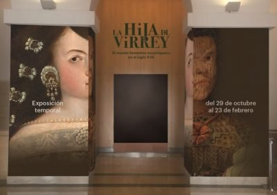 View of the entry to the exhibition