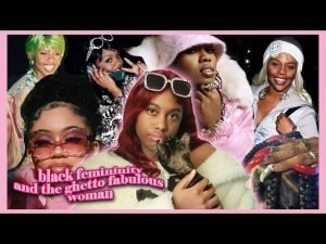 Collage of black women with the title of the episode inscribed on the lower left corner in pink letters